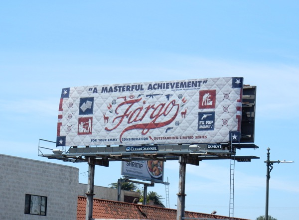 Fargo season 2 Emmy FYC billboard