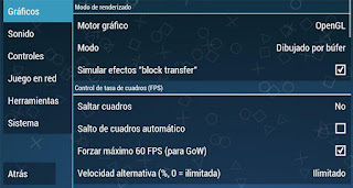 graficos aplicacion ppsspp