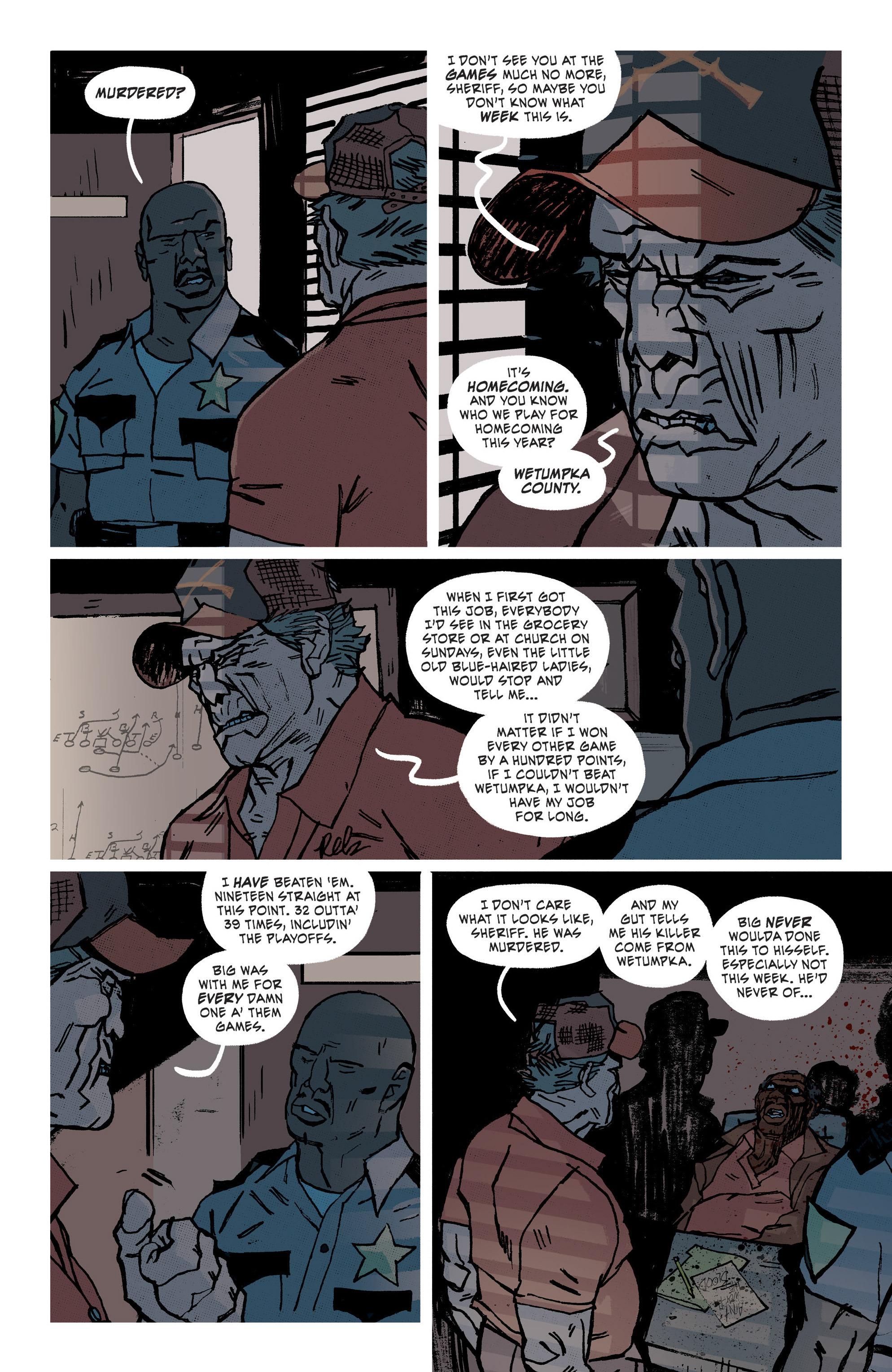 Read online Southern Bastards comic -  Issue #9 - 7