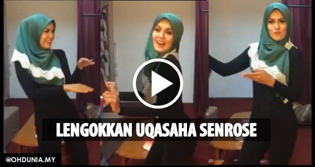 Video: Berdegup jantung lelaki bila menonton Uqasaha Senrose menari!..