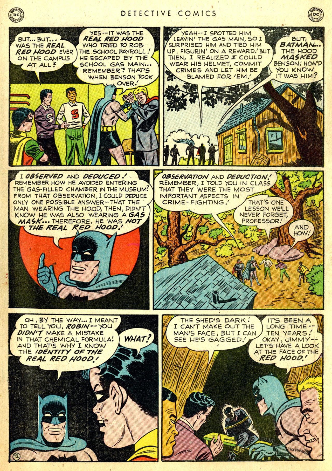 Read online Detective Comics (1937) comic -  Issue #168 - 14