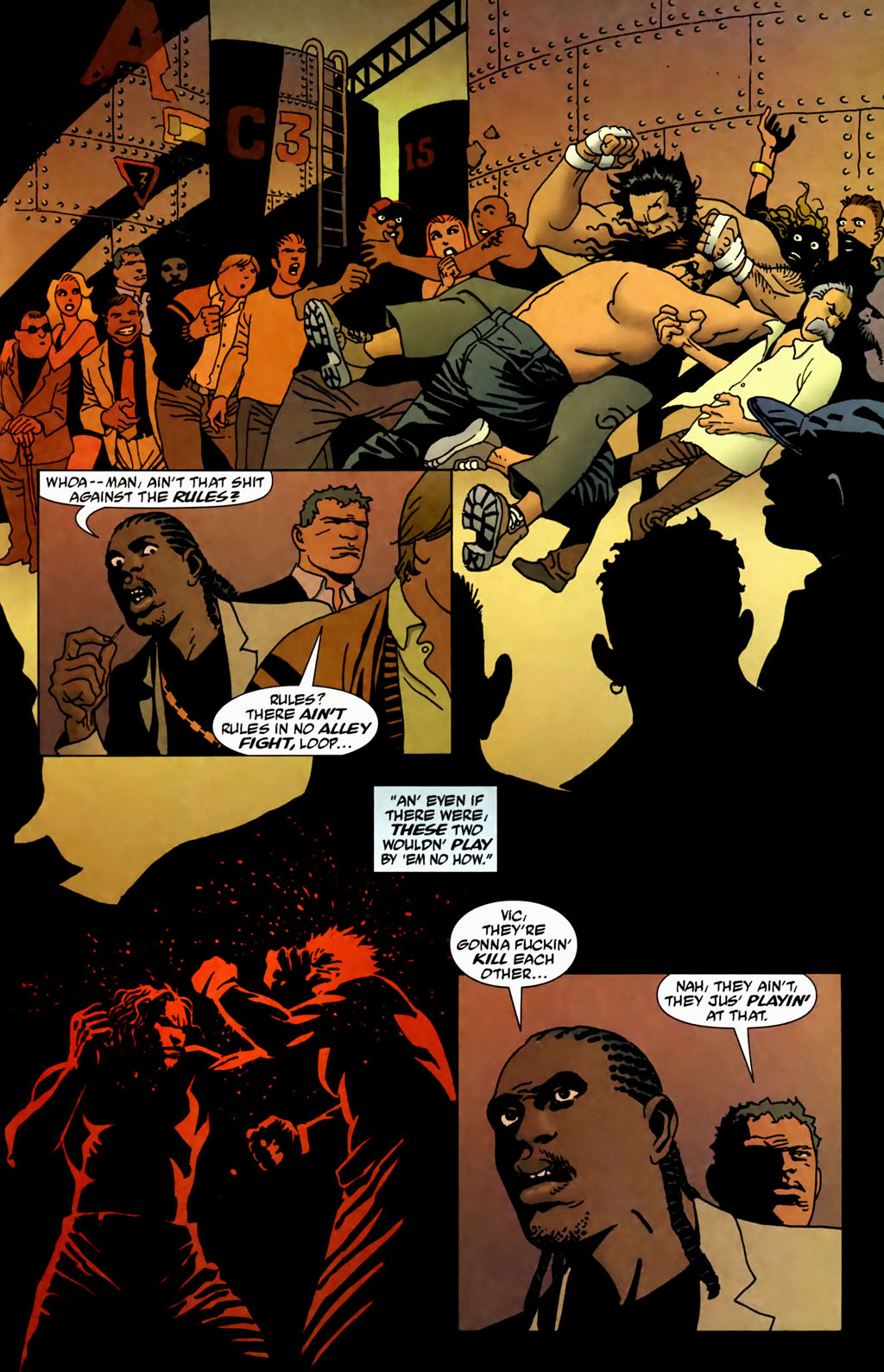 Read online 100 Bullets comic -  Issue #69 - 18