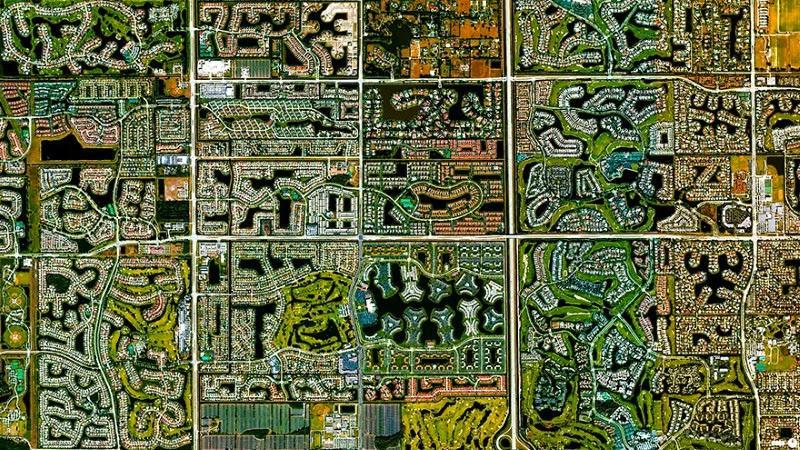 10. Boca Raton, Florida, USA - 17 Breathtaking Satellite Photos That Will Change How You See Our World