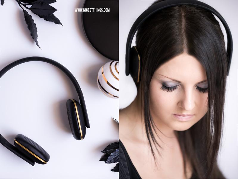 A.HEAD Kreafunk Kopfhörer Frau mit Headphones Girl