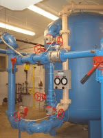 organics water removal system