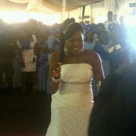 5 Wedding photos: Funke Akindele weds Kenny Almaroof