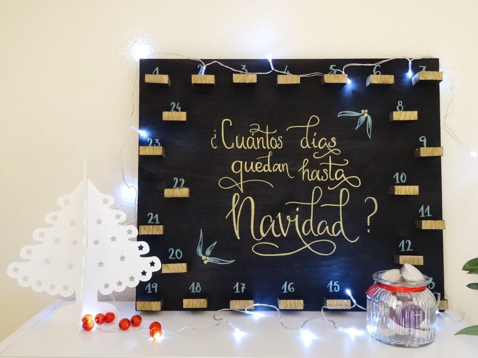 Diy calendario de adviento handbox craft lovers - Calendario de adviento diy ...