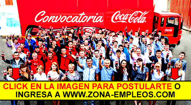 PASANTES PARA COCA-COLA 2019