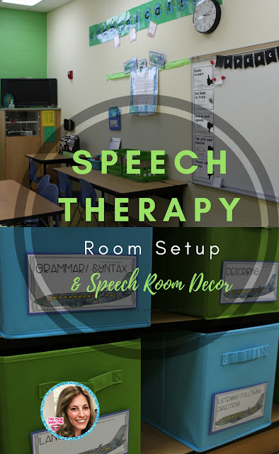 speech therapy room setup and speech room decor