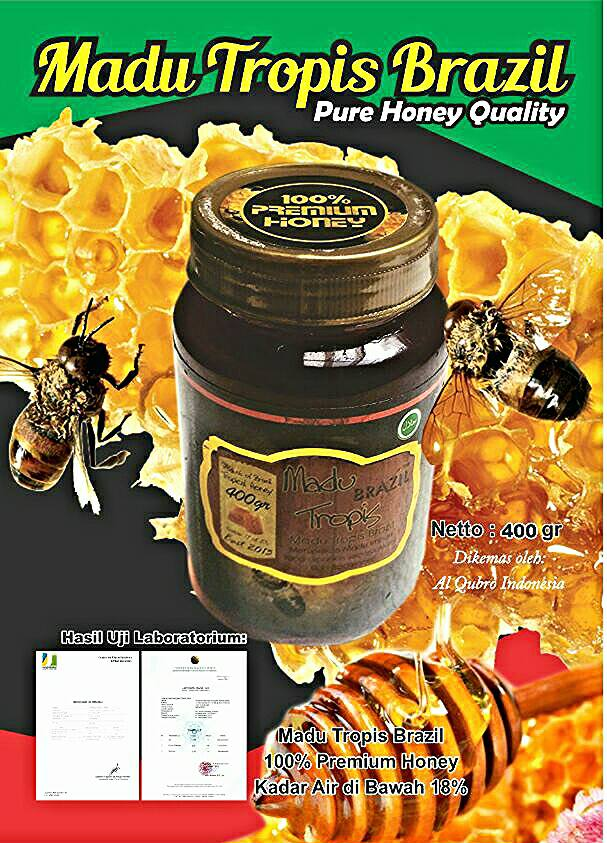 Madu Tropis Brazil Premium Honey Quality