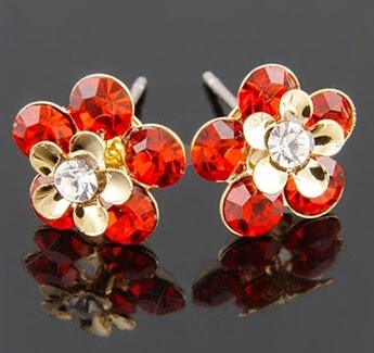 Cubic_Zirconia_Garnet_Red_Stones_earrings_wholesale
