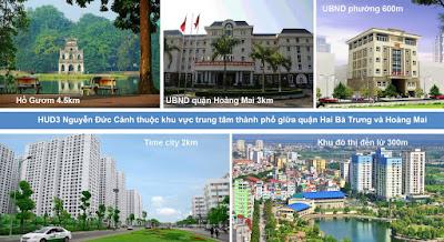 Khu hành chính gần chung chư HUD3 Nguyễn Đức Cảnh