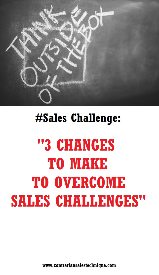 Overcome sales challenges with these 3 changes