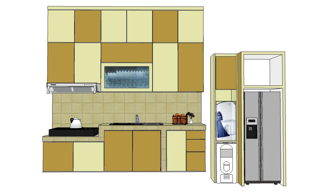 Kitchen Set Di Jl Pengantin Ali Ciracas Furniture Kitchen Set
