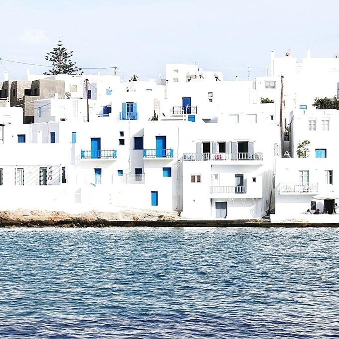 Naoussa grad Paros ostrvo