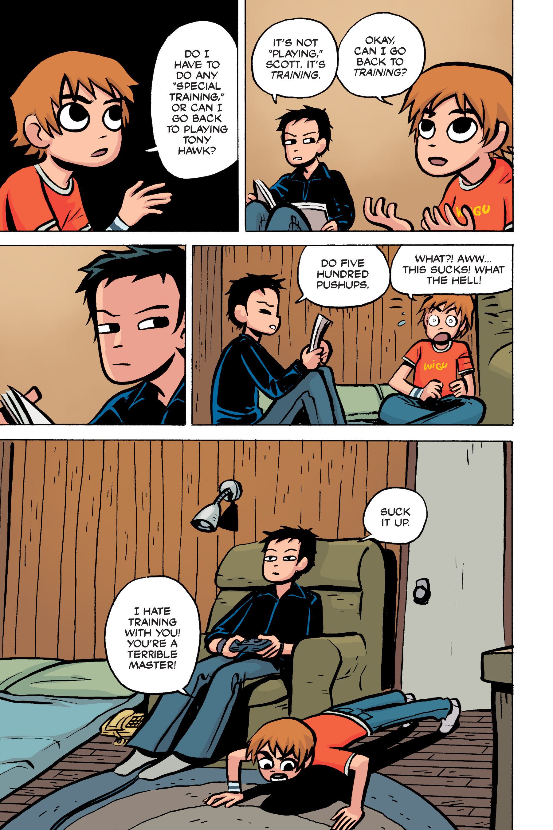Read online Scott Pilgrim comic -  Issue #2 - 73