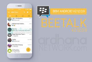 BBM Mod Apk v2.12 Beetalk Style + Smooth