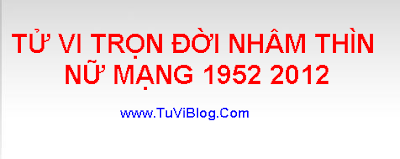 TU VI TRON DOI NHAM  THIN 1952 2012
