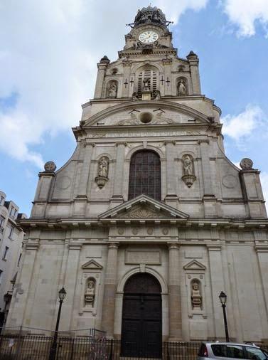 Iglesia de la Santa Cruz de Nantes.
