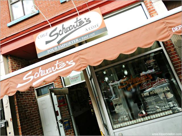 Schwartz's en Montreal, Canadá