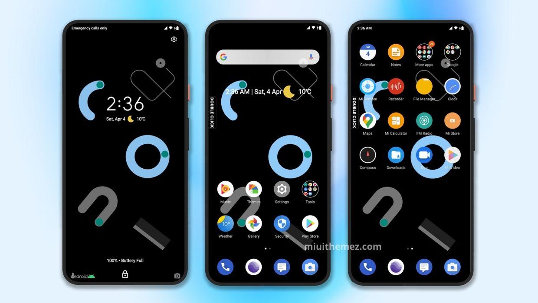 [HERUNTERLADEN] :  Pixel 4 Dark MIUI Theme für einen vollständigen Pixel Device Look |  P4 Dark Mi Theme