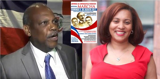 Fracasa marcha contra haitianos en NY; organizadores acusan senadora dominicana por  boicot