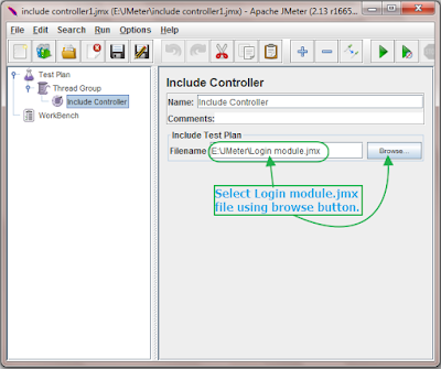 Include file in Include Controller