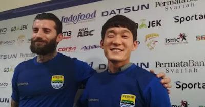 Persib Resmi Perkenalkan Bojan Malisic dan In-Kyun Ho sebagai Pemain Baru