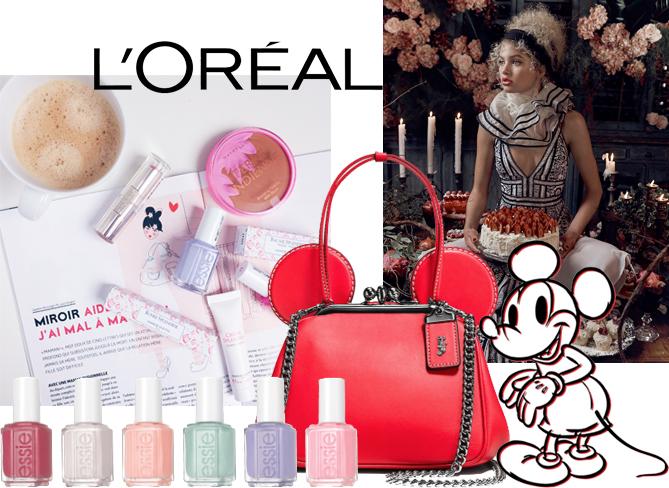 collage fashion beauty news