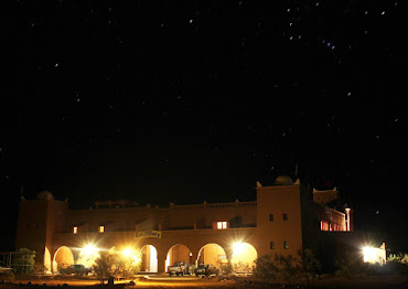 Click on picture to visit the Sahara Sky Observatory website. Stargazing in Moroccan Sahara desert