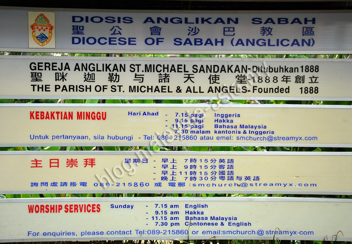 Saint Michael's Church Sandakan Information