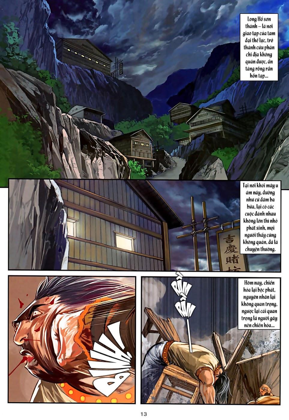 Ôn Thuỵ An Quần Hiệp Truyện Phần 2 chapter 30 trang 14