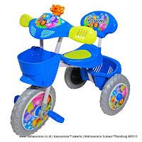Sepeda Roda Tiga ROYAL RY101 Classic Macan Musik