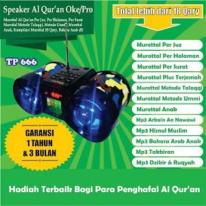 Speaker Al Qur'an Tp 666 16 Giga