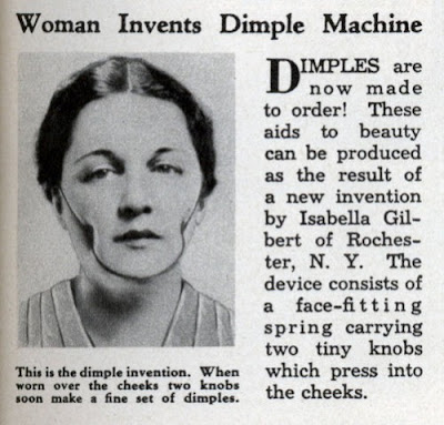 Woman invents dimple machine