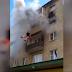 Choc: une famille contrainte de sauter du 5e étage à cause d'un incendie (vidéo)