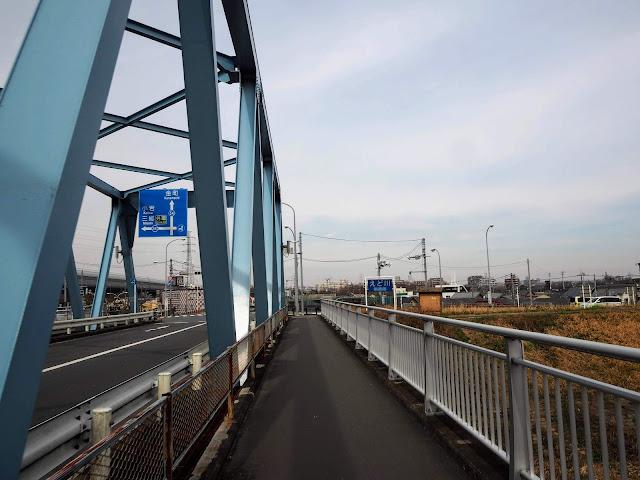 葛飾橋 江戸川
