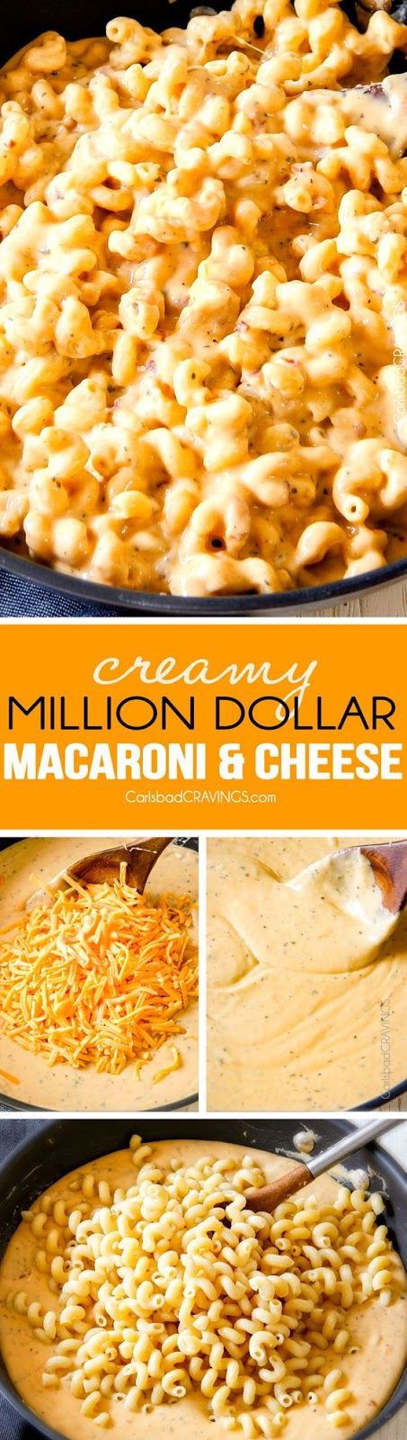 MILLION DOLLAR MACARONI AND CHEESE