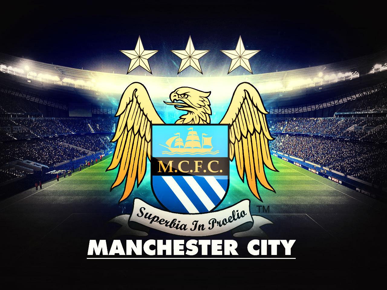 Logo Manchester City Keren