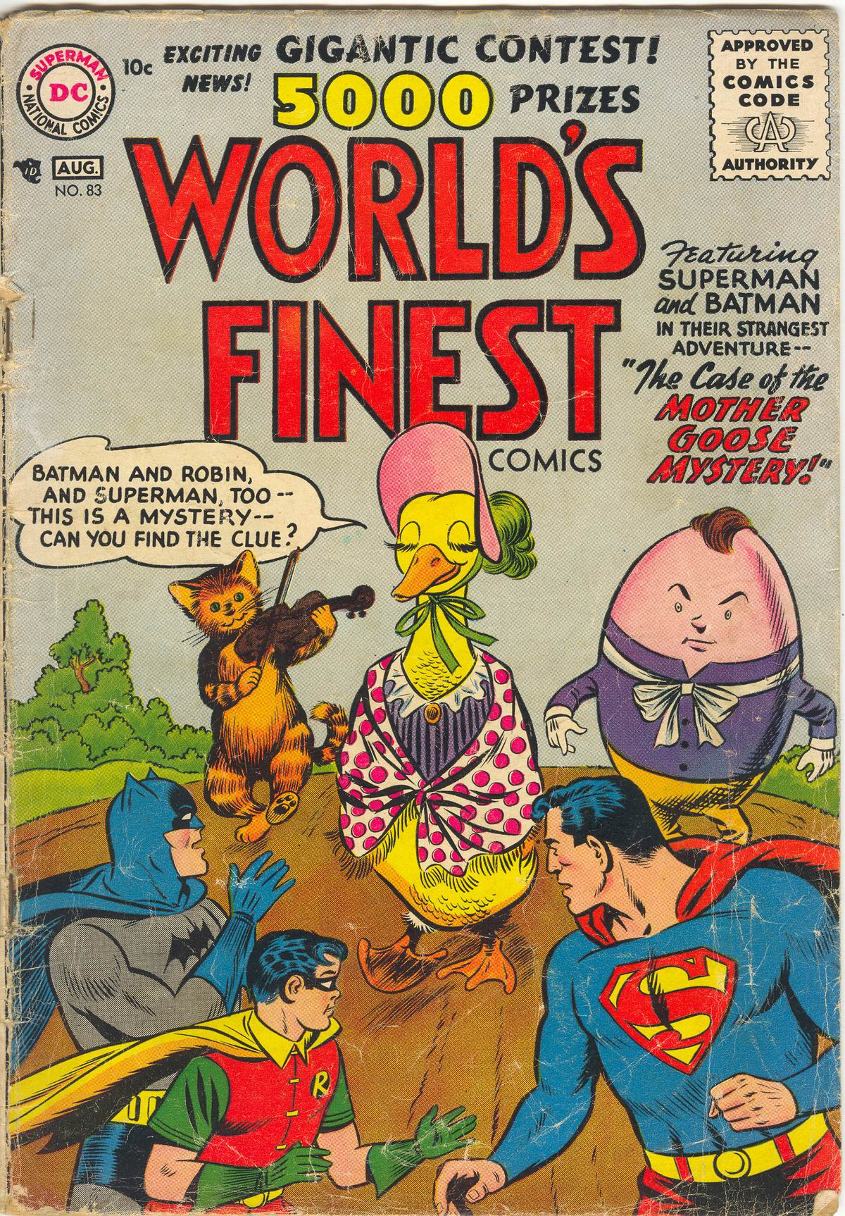 Read online World's Finest Comics comic -  Issue #83 - 1