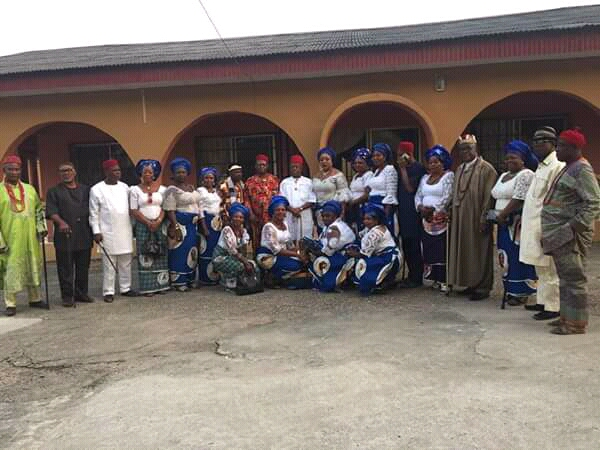 Abia women canvass support for @GovernorIkpeazu's re-election  -Visit Ukwa la Ngwa traditional rulers