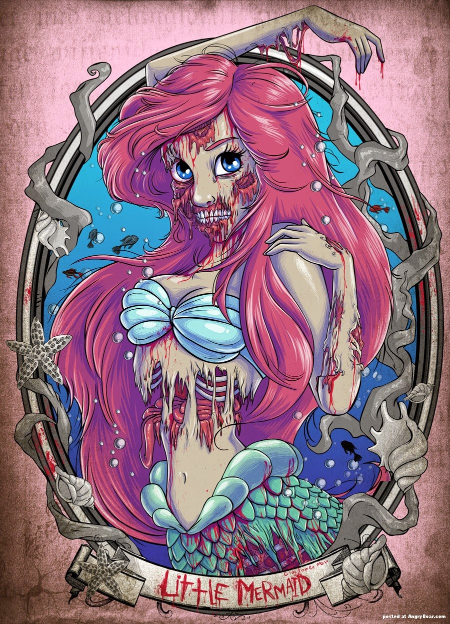 Zombies, tag, Viallen, Magicforever, blog, All-dreams-are-real,books, ariel, princess