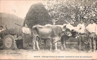 pays basque agriculture autrefois