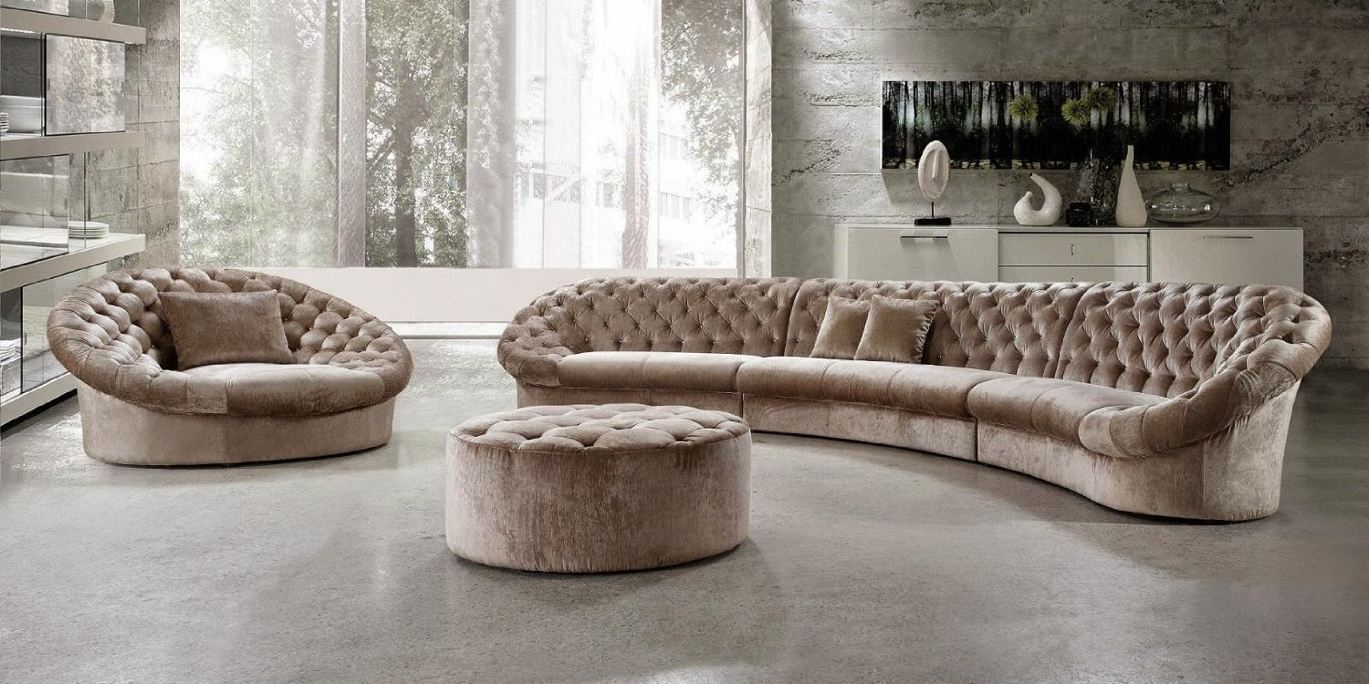 Modern Curved Sofa Reviews March 2015