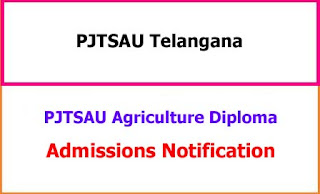 PJTSAU Agricultural Polytechnic Admissions 2021