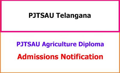 PJTSAU Agricultural Polytechnic Admissions