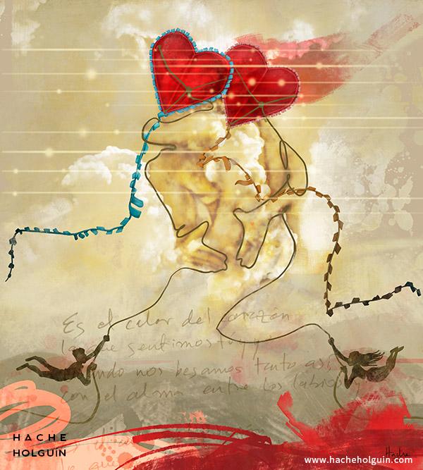 Ilustración El calor del corazón