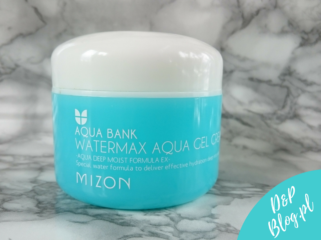 WaterMax Aqua Gel Cream Mizon recenzja