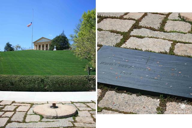 My Travel Background : 12 lieux à visiter à Washington D.C. - Cimetière d'Arlington - Tombe des Kennedy