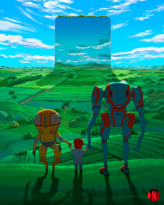 Eden anime Netflix